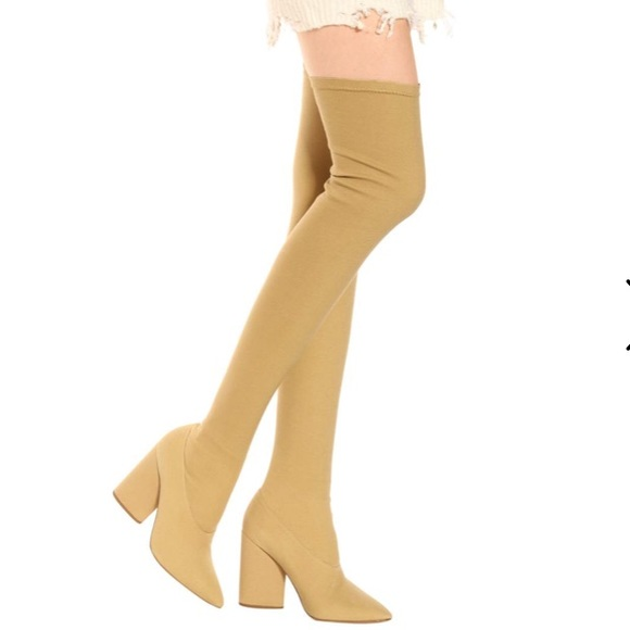 beauty for whole family largest selection of 2019 YEEZY Thigh High Boots Boutique